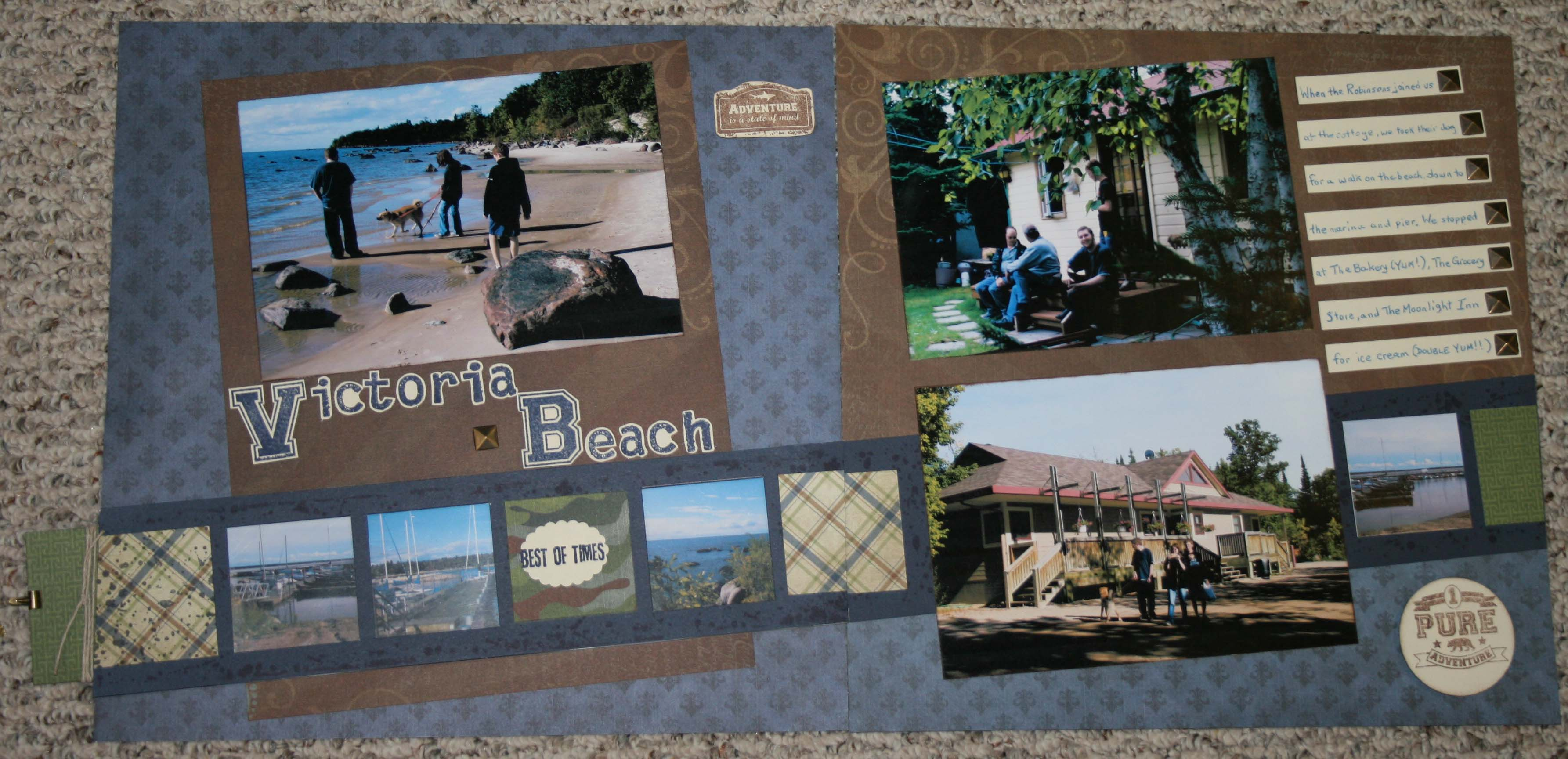 How to scrapbook pages - Do You See How