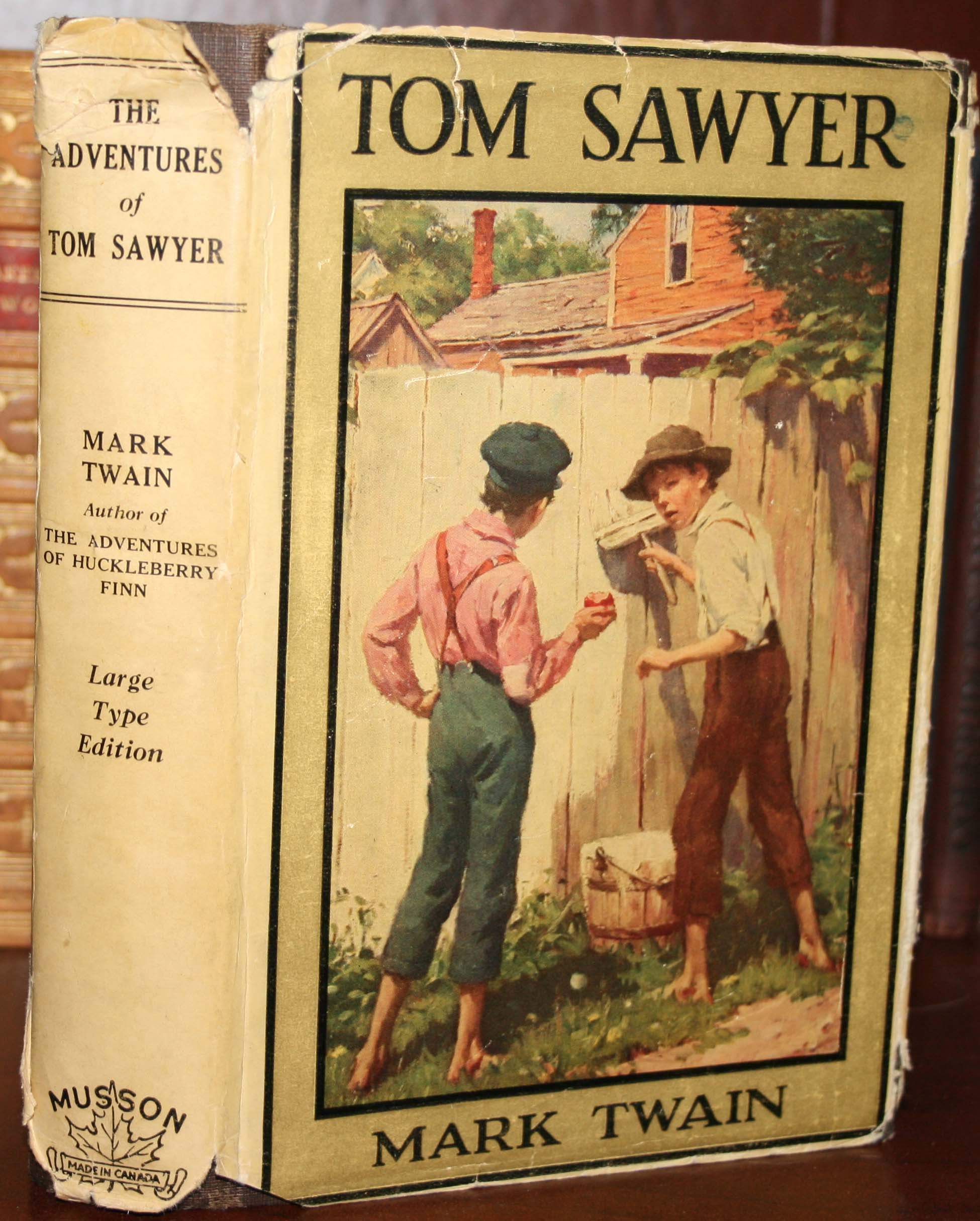 book report on tom sawyer