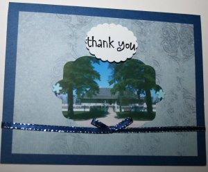 Big House thank-you