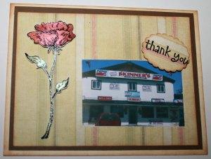 Skinner's thank-you