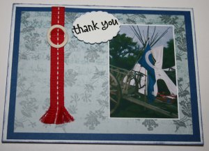 thank-you red sash